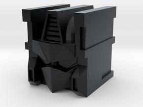 Explorer Head Mk I in Black Hi-Def Acrylate
