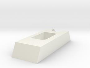 Tie Pilot Switch Bottom in White Natural Versatile Plastic