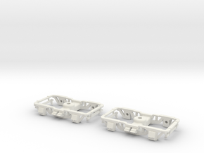 On2 Sandy River passenger trucks  in White Natural Versatile Plastic