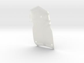 045011-01 Ampro Hornet Body, Hood in White Processed Versatile Plastic