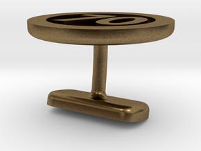 Cufflink 70 in Natural Bronze