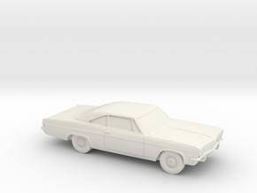 1/87 1965 Chevrolet Impala Coupe in White Natural Versatile Plastic