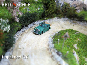Opel Olympia Cabrio-Limousine (N 1:160) in Smooth Fine Detail Plastic