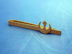 TIE CLIP REBEL ALLIANCE in Polished Gold Steel