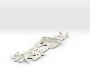 CK1 Chassis Kit for 1/32 Scale Small MagRacing Car in White Natural Versatile Plastic