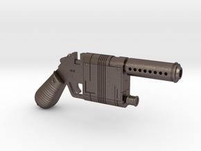 Rey's Blaster 1:6 in Polished Bronzed Silver Steel