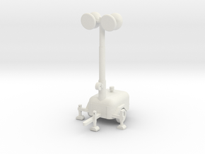 Light Generator Pole  in White Natural Versatile Plastic