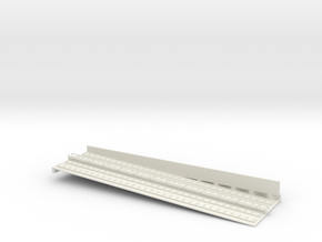 MARKET SUBWAY EL INCLINE 6 PT4 HO SCALE in White Natural Versatile Plastic
