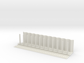 HO Scale SUBWAY West Philadelphia SECTION  in White Natural Versatile Plastic