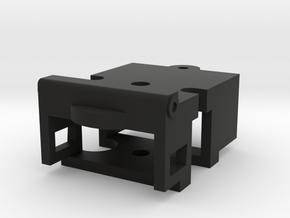 Atlas O Scale ALCo RS-1 Coupler Mount (Buffer) in Black Natural Versatile Plastic