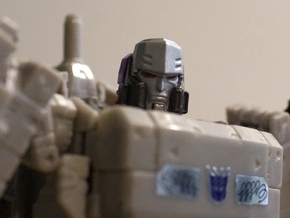 megatron mtmte for titans return in Frosted Extreme Detail