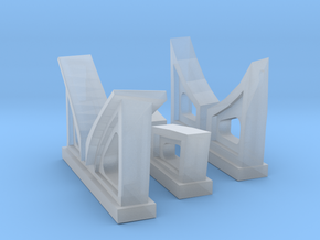1/96 Cradles Set IJN 9m Cutter in Smooth Fine Detail Plastic