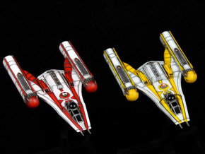 R2&R5 Clone Wars inspired Y-wing pack 1/270 in Smoothest Fine Detail Plastic