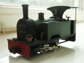 009 'Vyrnwy' Kerr Stuart Sirdar body in Smooth Fine Detail Plastic