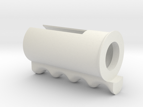 Push Button Handle in White Strong & Flexible