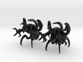 Skorpulex 003 II 28mm in Black Hi-Def Acrylate