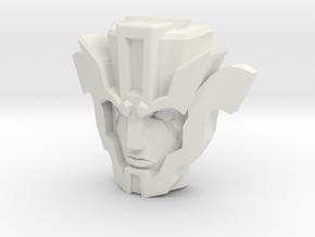 IDW Dinobot Strafe, wide (Titans Return) in White Natural Versatile Plastic