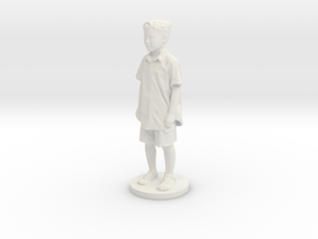 Printle C Kid 122 - 1/24 in White Natural Versatile Plastic
