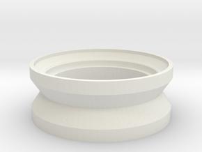 Mini-Mag Inner Ring for Vaterra 41004 in White Natural Versatile Plastic