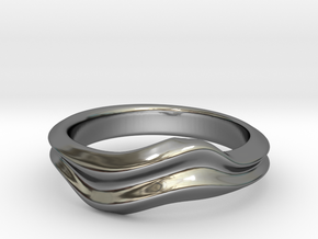 no.6 in Fine Detail Polished Silver: 5 / 49
