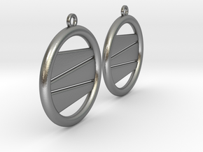 Earring GP Pair in Natural Silver