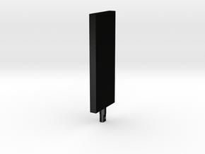 The MONOLITH, 2001 - Keychain in Matte Black Steel
