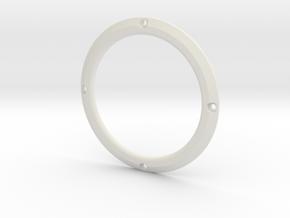RE40 Zierring 4 Loch in White Natural Versatile Plastic