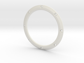 RE40 Zierring 8 Loch in White Natural Versatile Plastic