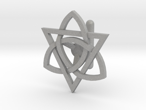 Celtic Cufflink in Aluminum