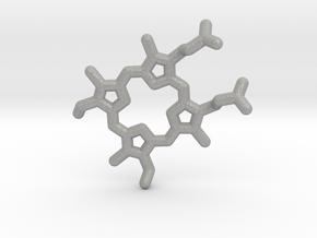Heme-group pendant in Aluminum