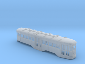 N Scale B&QT 6000 Peter Witt Trolley Body in Smooth Fine Detail Plastic