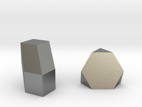 Geometric Rockz  in Natural Silver