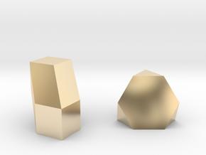 Geometric Rockz  in 14K Yellow Gold