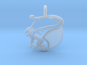 Astrology Zodiac Scorpio Sign  in Smooth Fine Detail Plastic