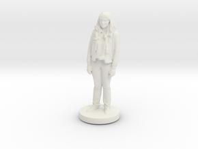 Printle C Femme 090- 1/64 in White Natural Versatile Plastic