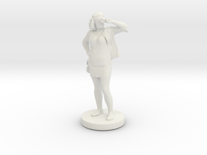 Printle C Femme 096- 1/43 in White Strong & Flexible