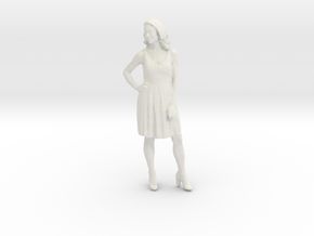 Printle C Femme 143 - 1/24 - wob in White Natural Versatile Plastic