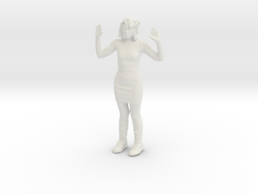Printle C Femme 064-w/o base in White Strong & Flexible