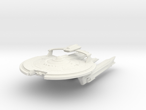 Hampton Class VI  BattleCruiser in White Natural Versatile Plastic