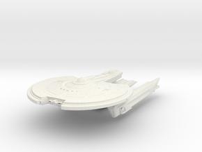 Hampton Class V  BattleCruiser in White Natural Versatile Plastic