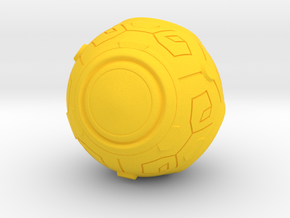 Zenyatta's Ball (Outdated. Go to my shop) in Yellow Processed Versatile Plastic