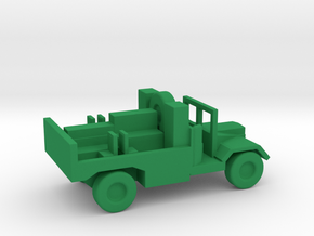 1/144 Scale Morris C8 Tractor in Green Strong & Flexible Polished