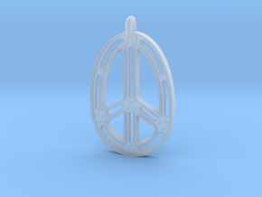 Peace Connection in Smooth Fine Detail Plastic