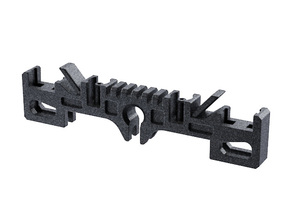 GRFLX 2.0/2.1/2.5 Clamp Sw Holder with suspension  in Black Natural Versatile Plastic