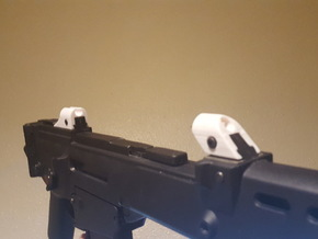 "G36 ""Aurora"" Sights in White Natural Versatile Plastic"