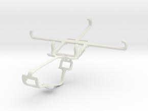 Controller mount for Xbox One & Intex Aqua Star L in White Natural Versatile Plastic