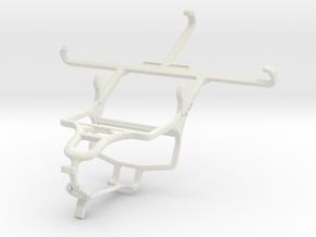 Controller mount for PS4 & Intex Aqua Star L in White Natural Versatile Plastic