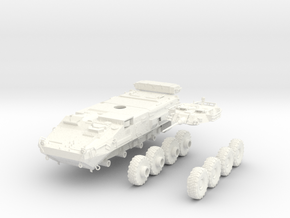 Canadian Army LAV III 1:50 in White Strong & Flexible Polished