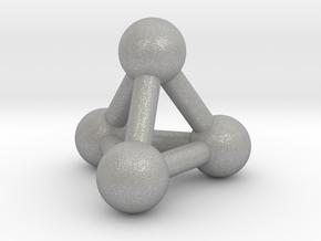 0594 Tetrahedron V&E (a=10mm) #003 in Aluminum
