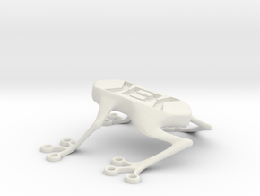 Kek Frog in White Strong & Flexible